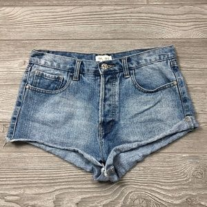 Forever 21 Jeans Booty Shorts Women's 29 X49